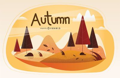 Herbstsaison Illustration