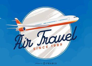 Logotipo da companhia aérea