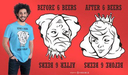 Ilusão ótica Design engraçado do t-shirt