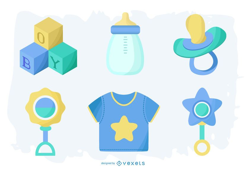 Baby Boy Element Pack