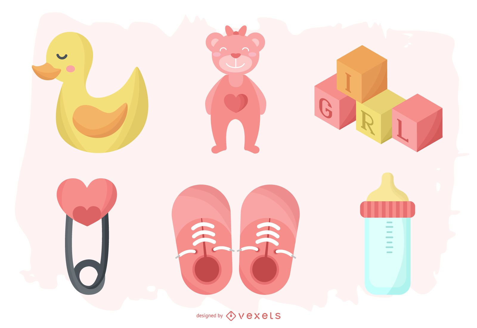Baby Girl Element Pack