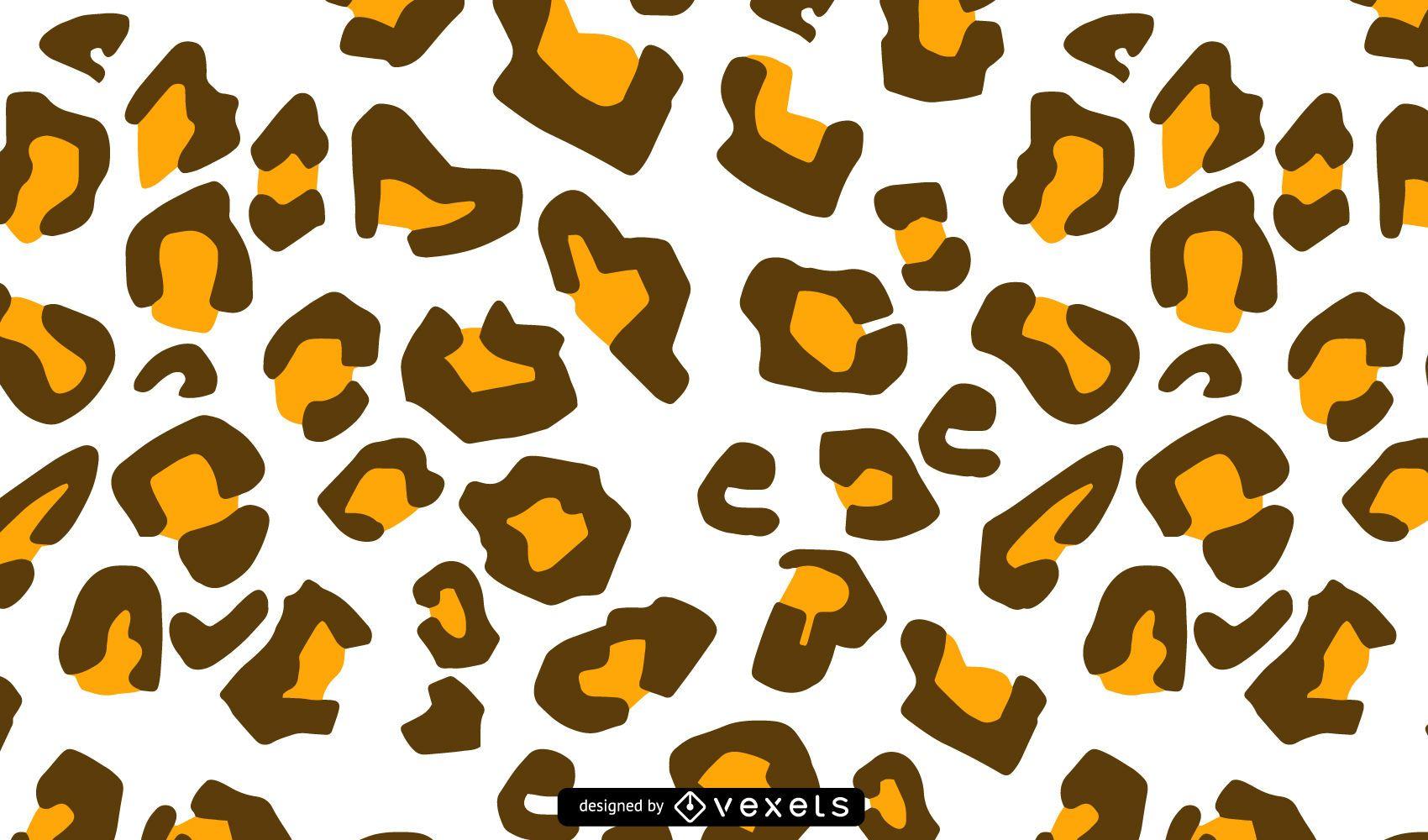 Seamless Cheetah Pattern Design
