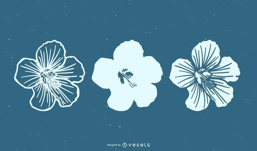 Minimaler Blumen-gesetzter Vektor