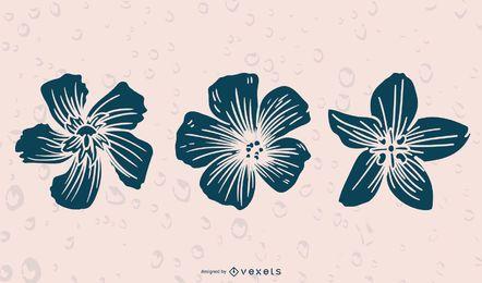 FloresSilhouettes