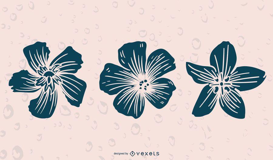 BlumenSilhouetten