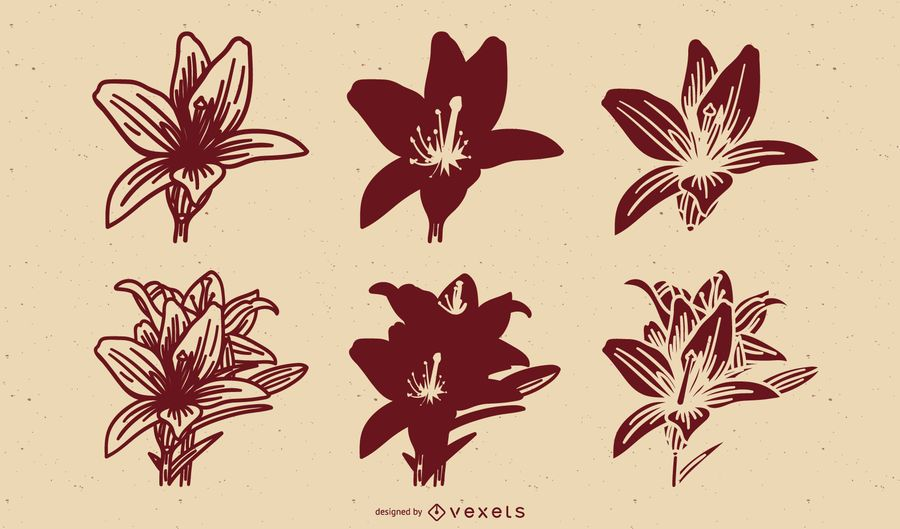 Flower Design Vector Art