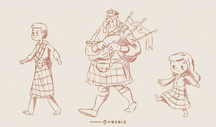 Scotland Characters