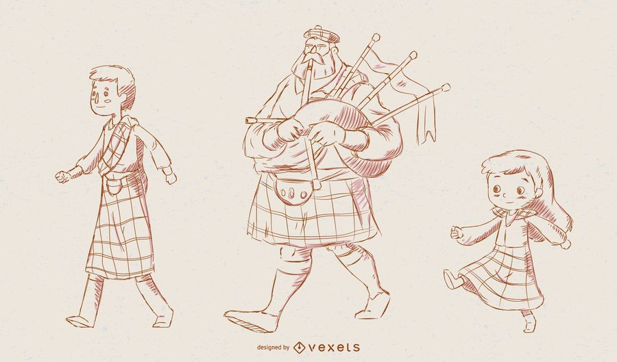 Schottland Zeichen