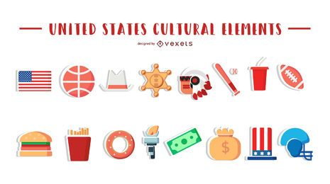 Elementos culturais dos Estados Unidos