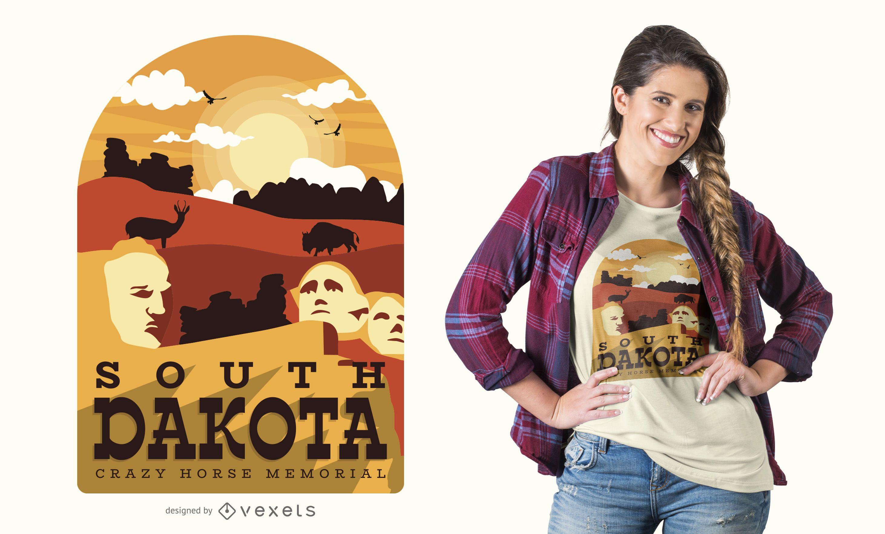 South Dakota t-shirt design