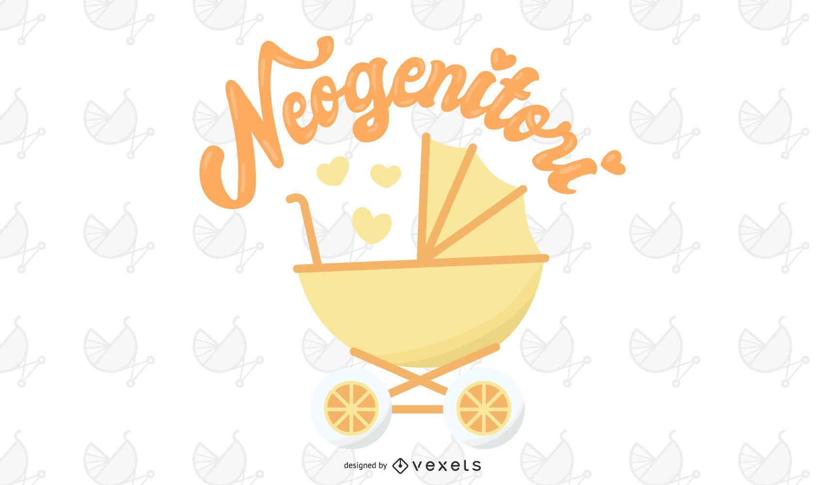 Neo-genitori New Parent Vector Illustration