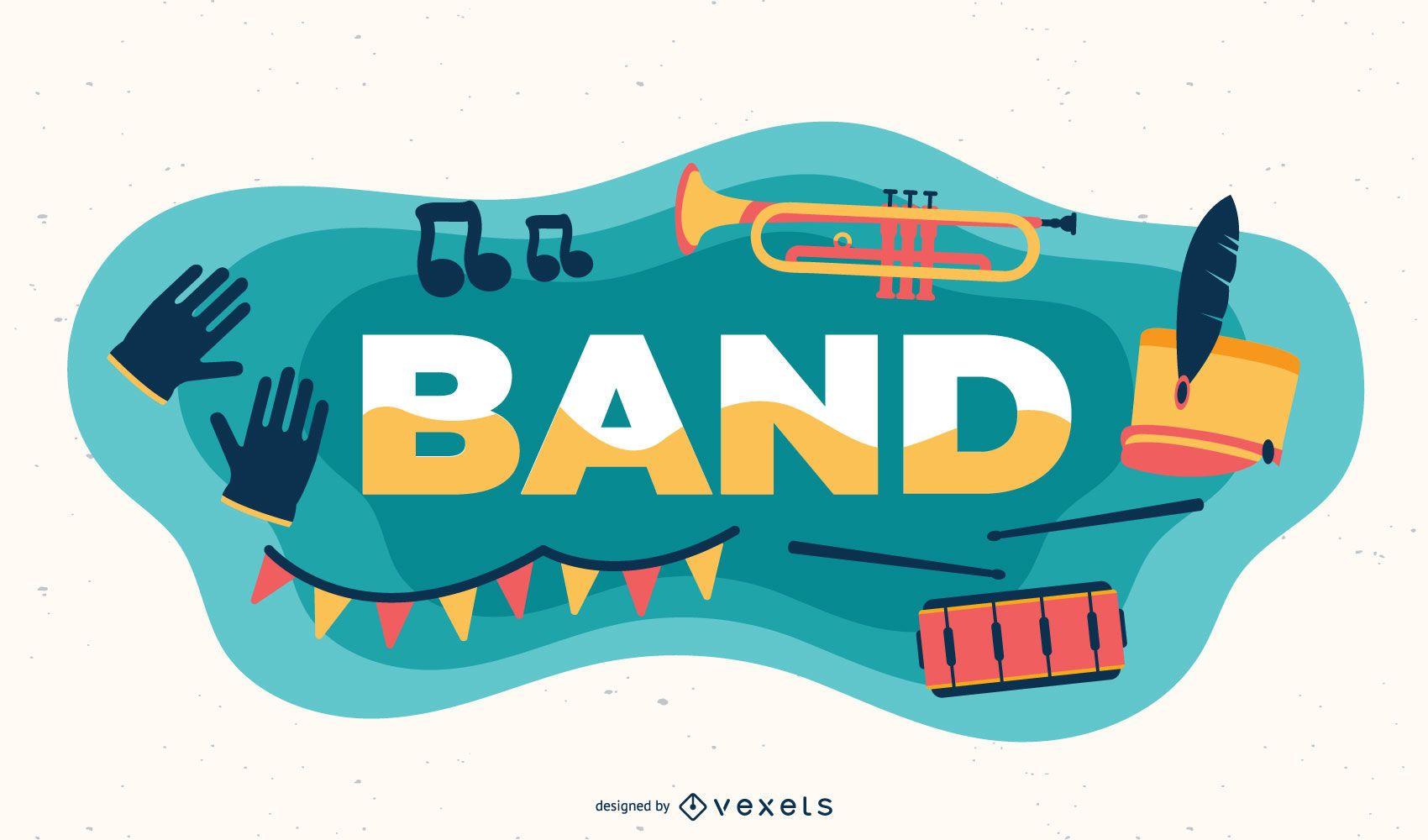 Band subject illustration
