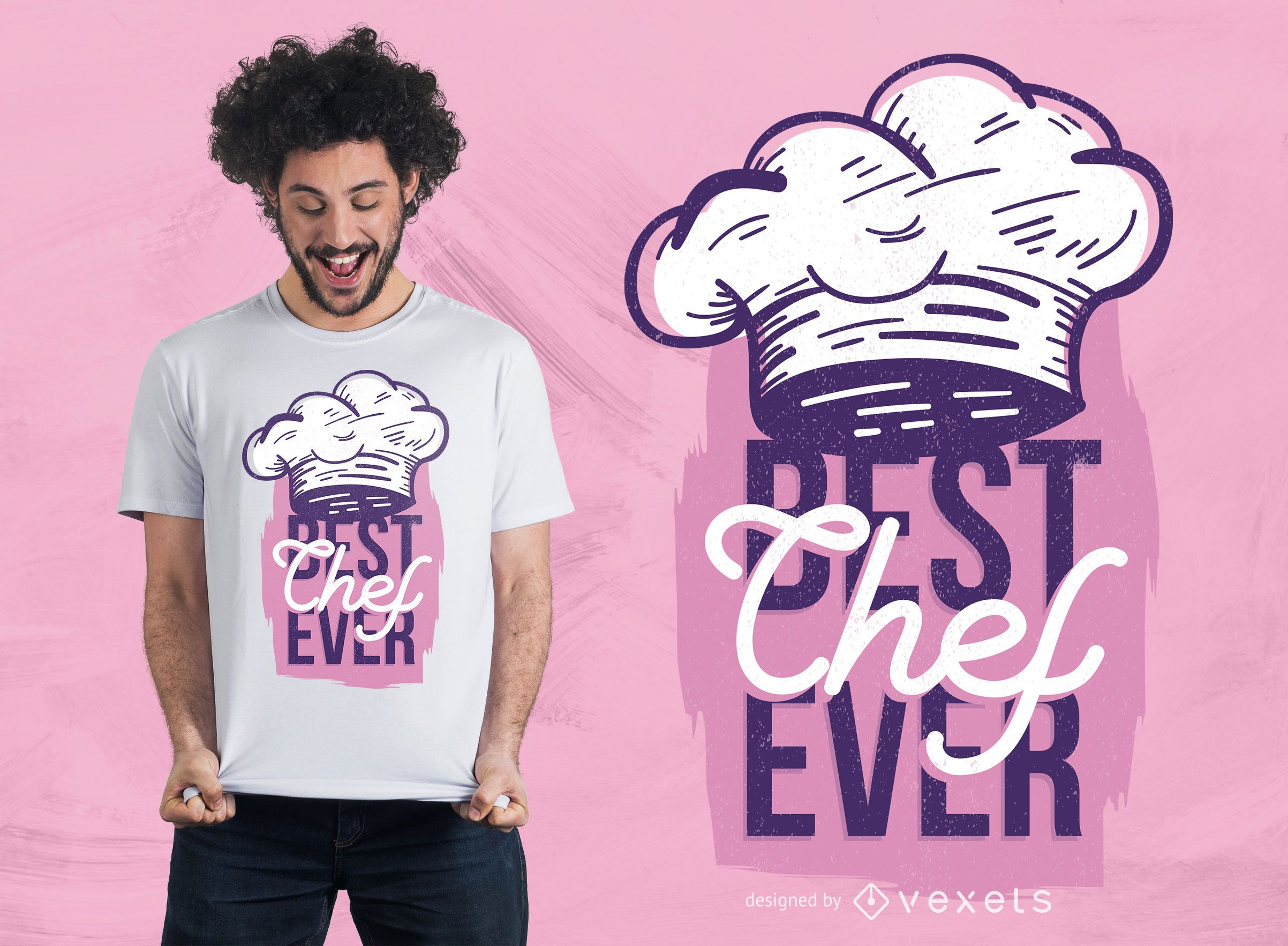 Diseño de camiseta Best Chef Ever