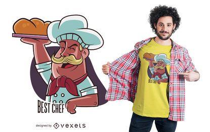 Melhor Design de Camiseta de Chef