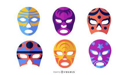 Máscaras de lutadores