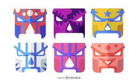 GEOMETRIC FACE MASKS DESIGN