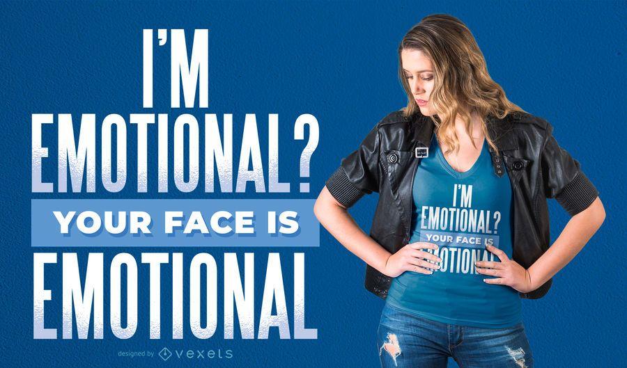 EMOTIONAL T-SHIRT DESIGN