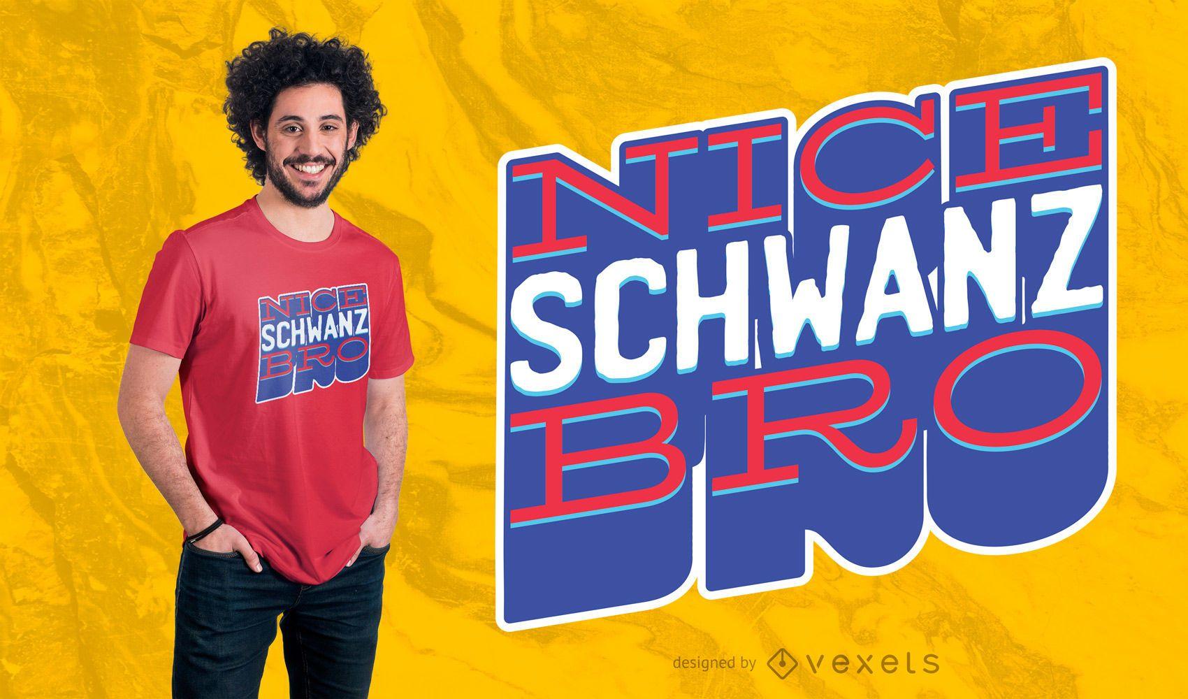 NICE COOK GERMAN T-SHIRT DESIGN