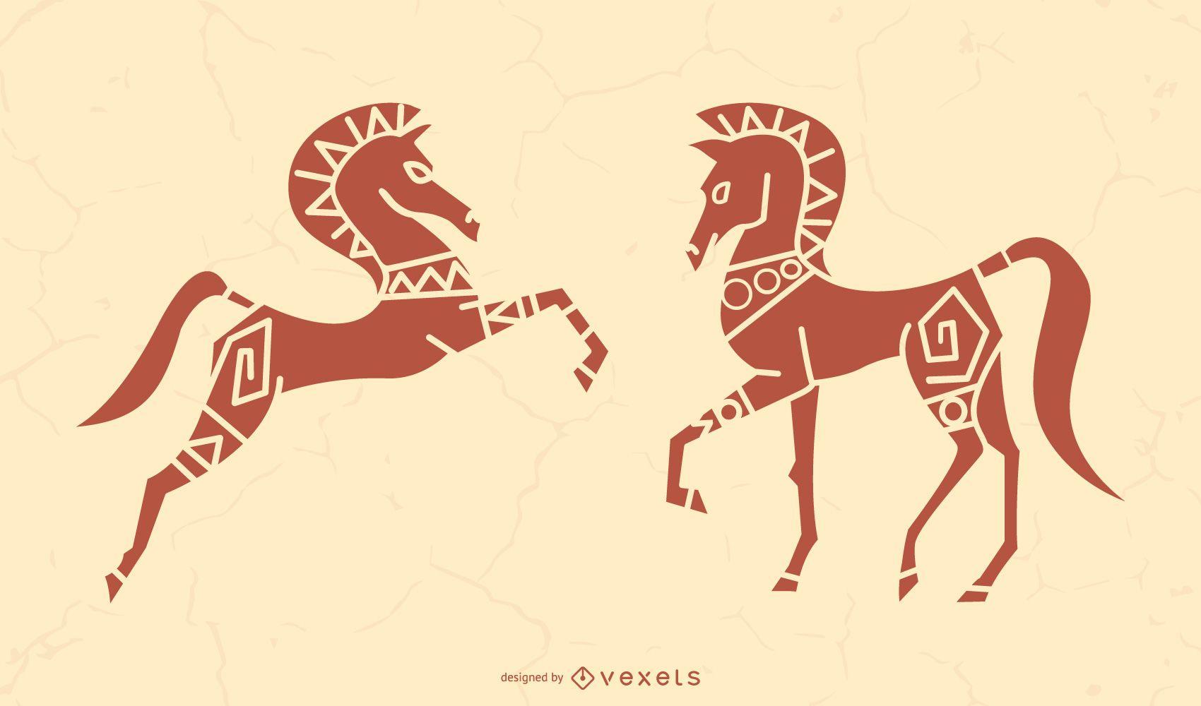Stylish Stallion Silhoutte Design