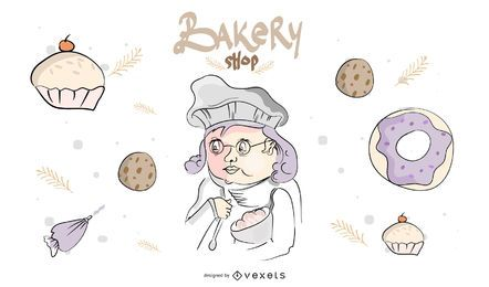 Bakery Shop Banner Design
