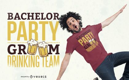 Bachelor Party T-shirt Design