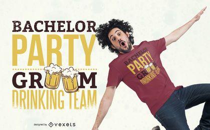 Bachelor Party T-Shirt Design