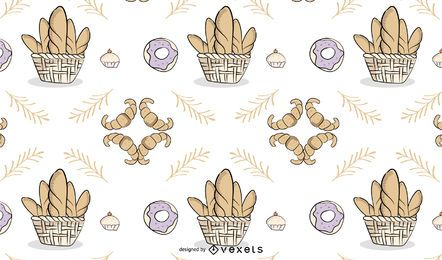 Hintergrund der Bäckerei
