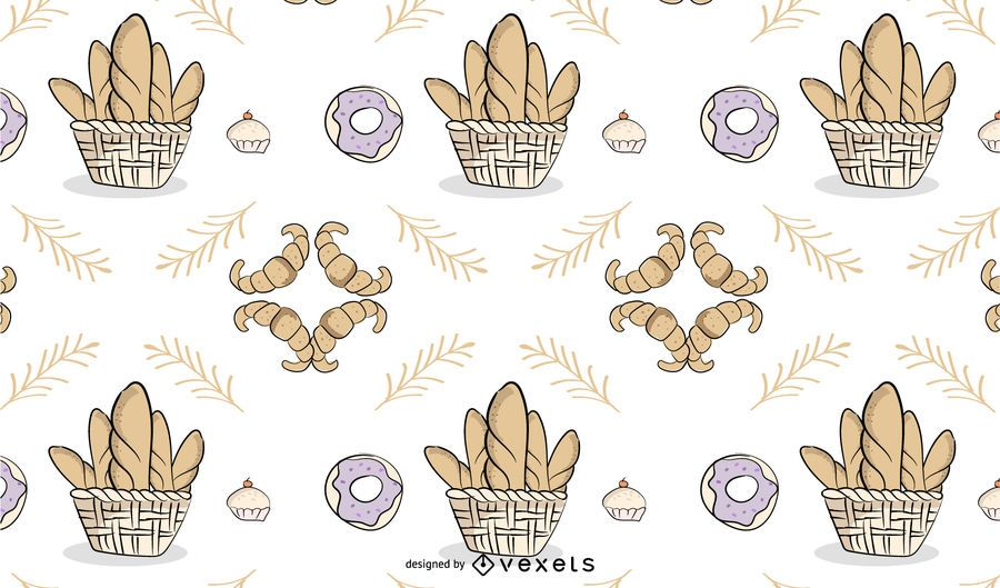 Bäckerei Motto Hintergrund