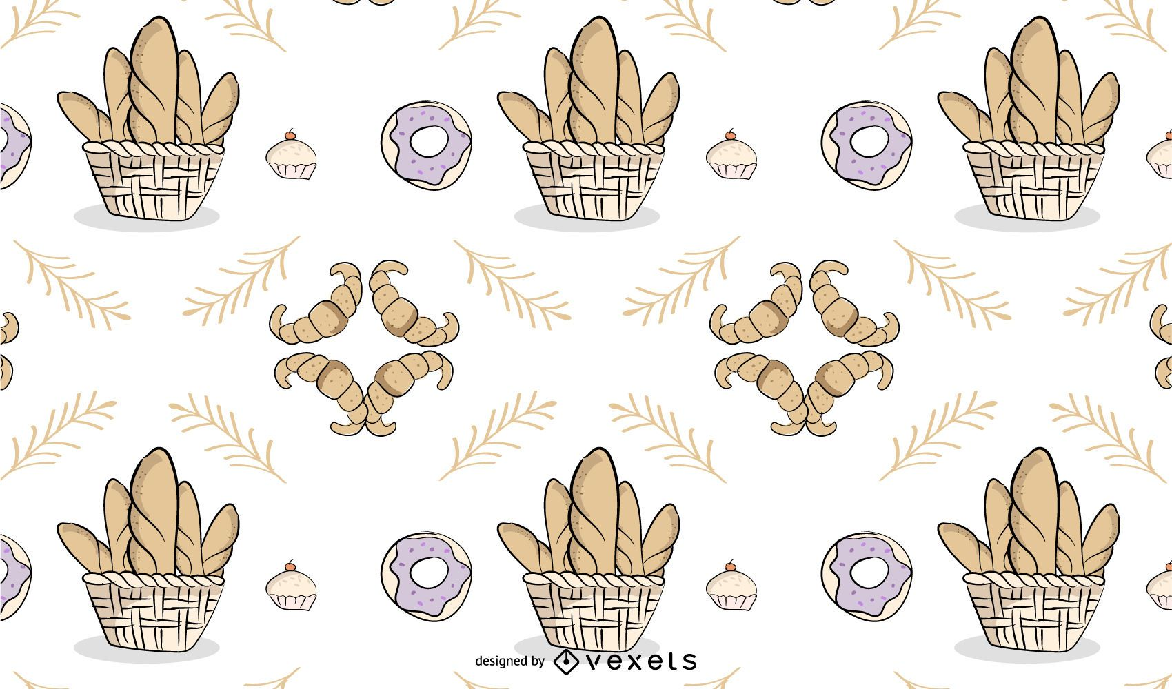 Bakery Themed Background