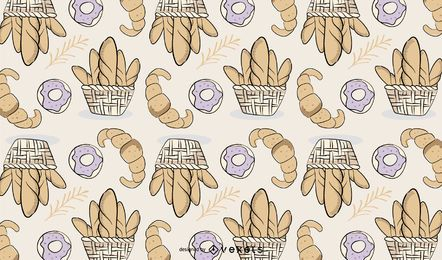 Padaria Bread Pattern Design