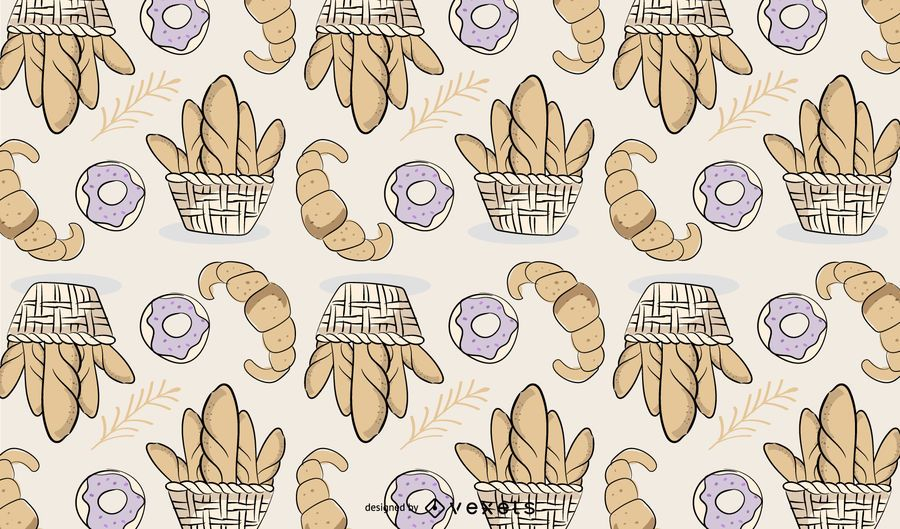 Bakery Bread Pattern Design