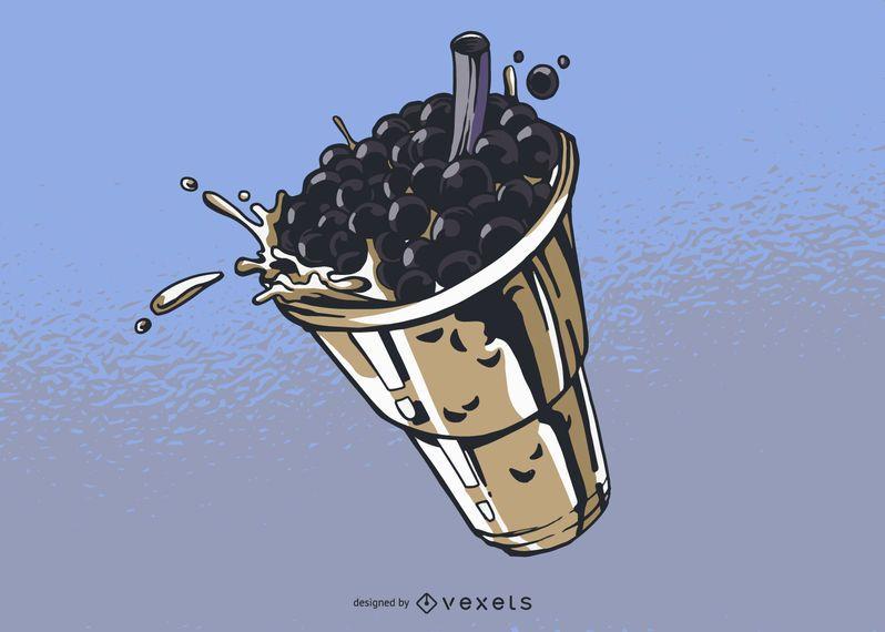 Bubble Tea Abbildung