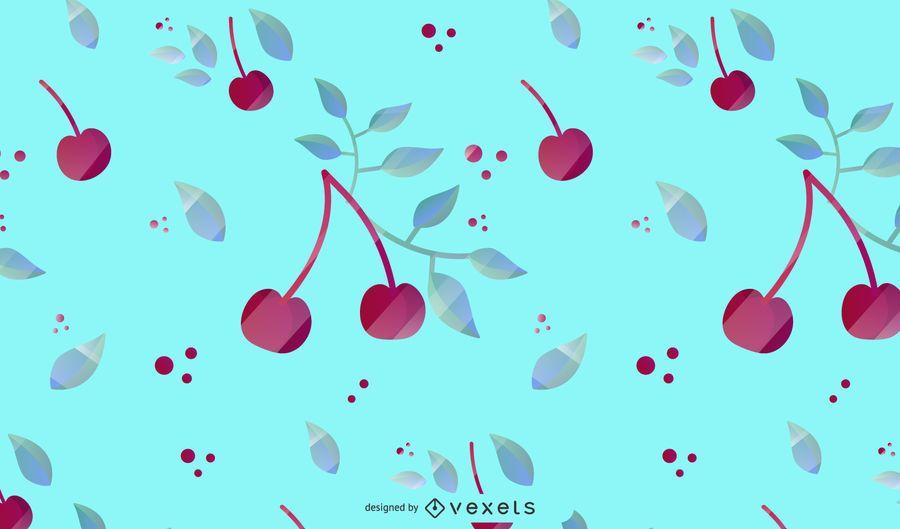Cherry Pattern Background Design