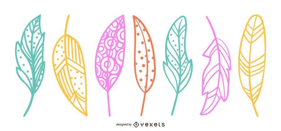 Beautiful Leaves Design Illustration