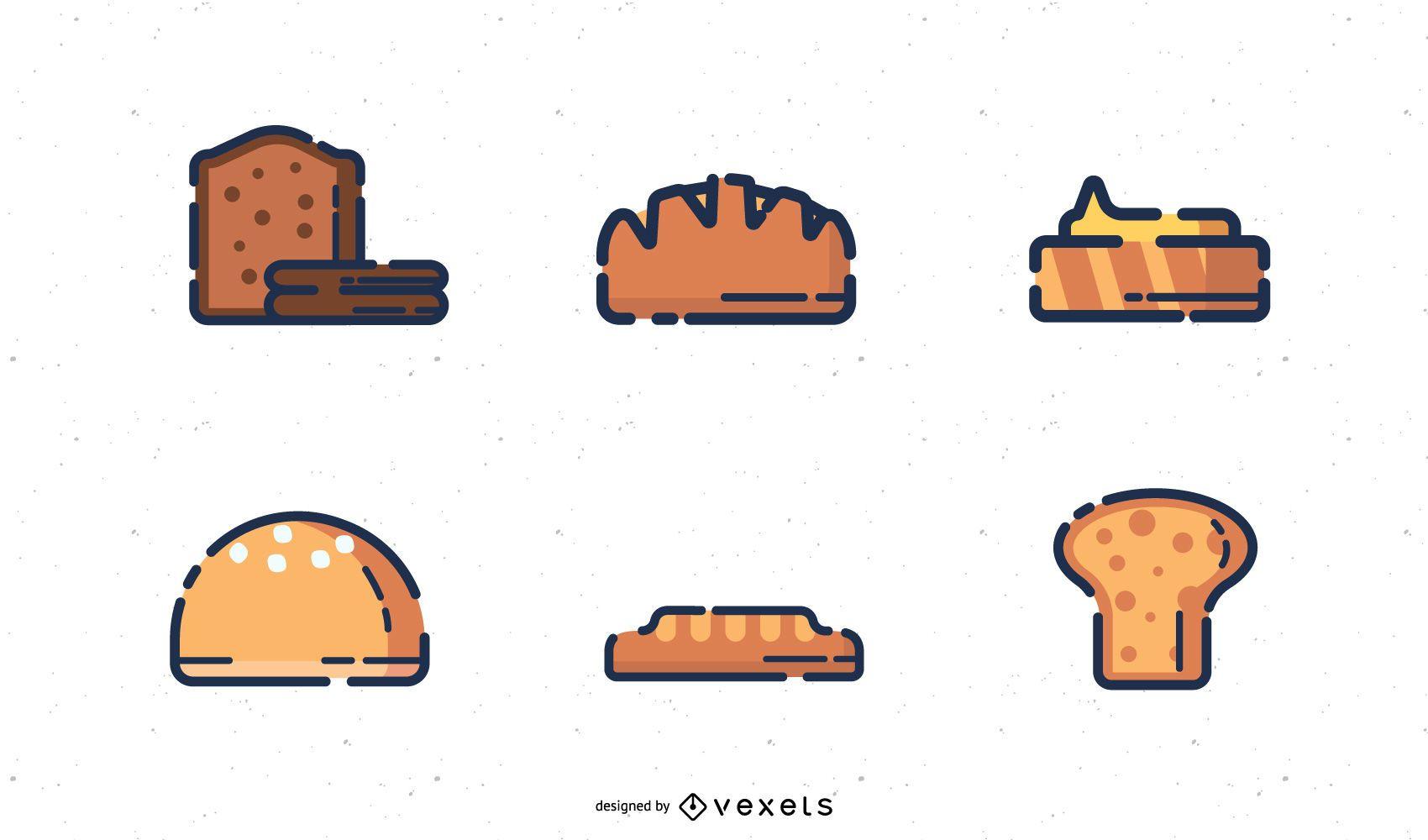Bakery Digital Icons