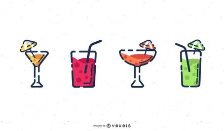 Cocktail Collection Digitale Kunst