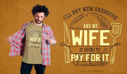 Comprar diseño de camiseta BBQ
