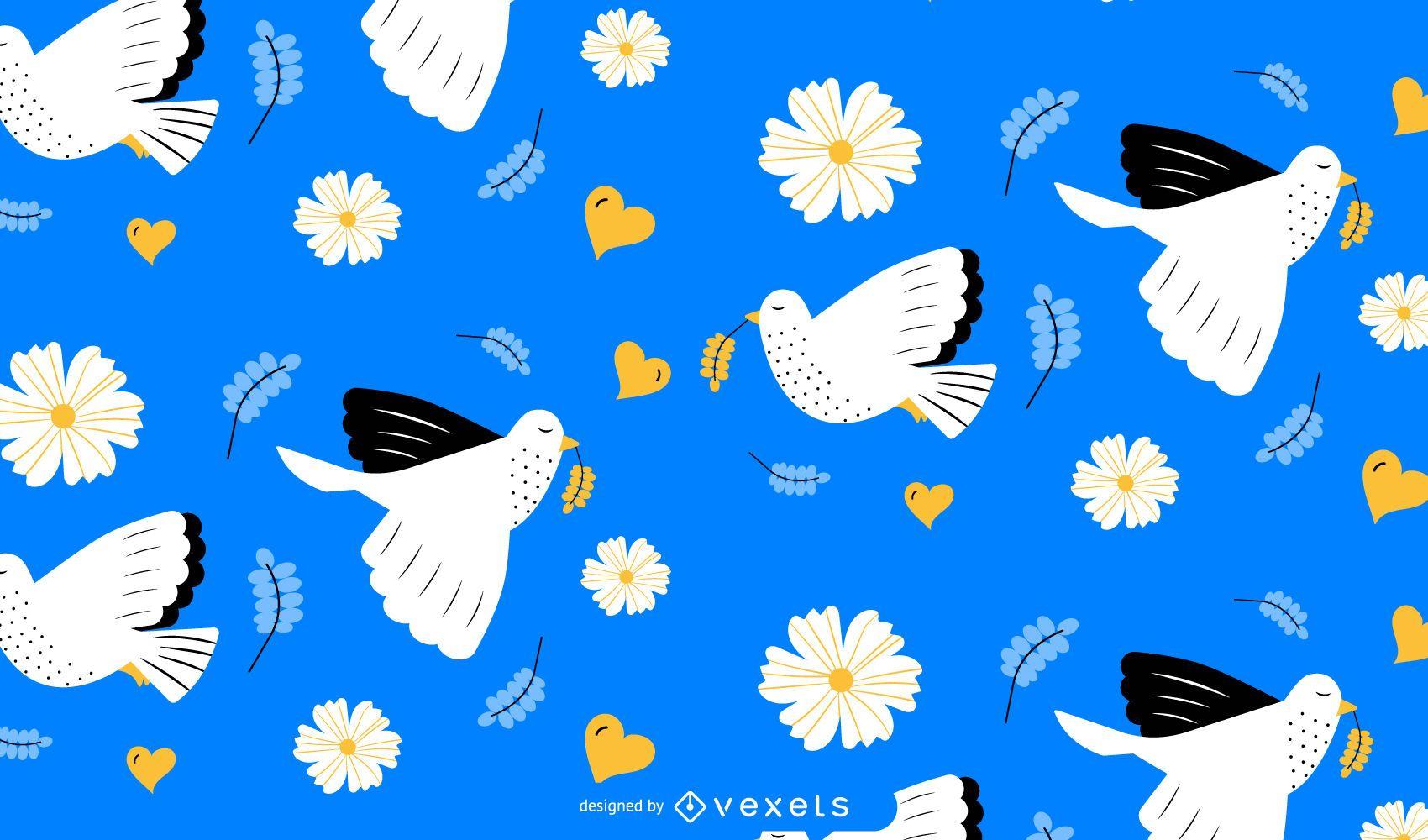 International Day of Peace Pattern