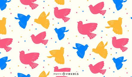 Day of Peace Pattern Illustration