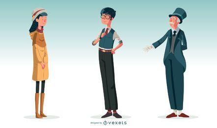 Personajes ingleses