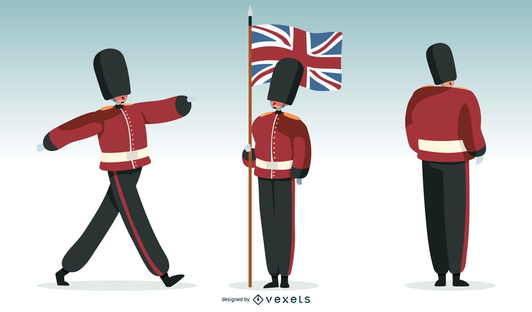 British Guard Illustration
