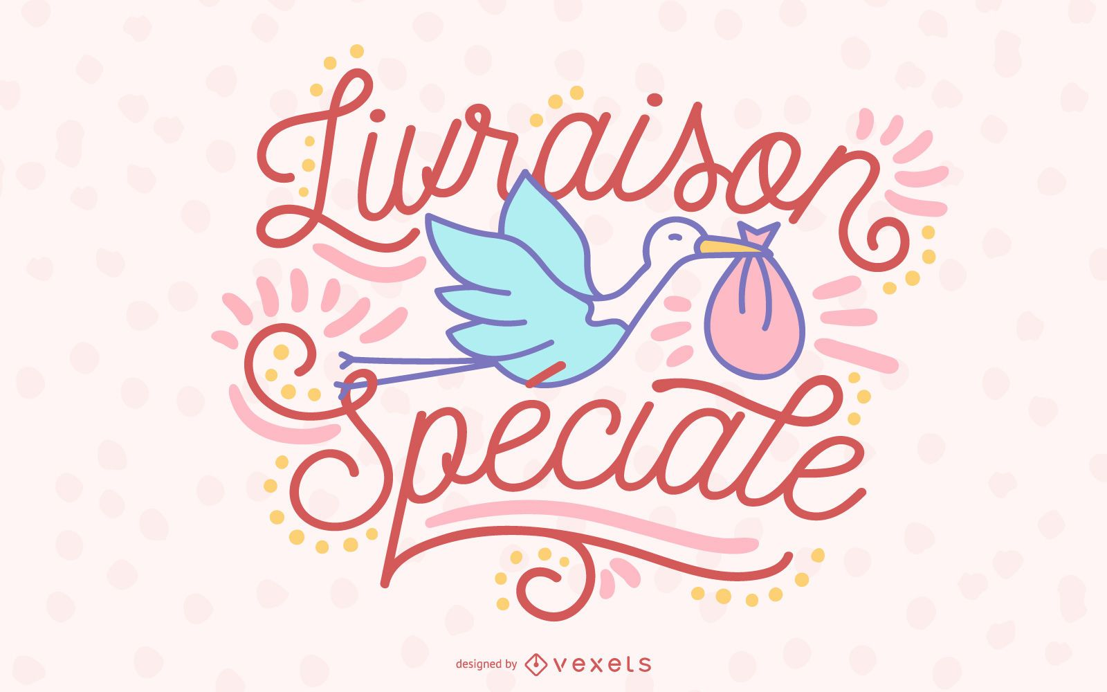 Special Delivery Lettering Design