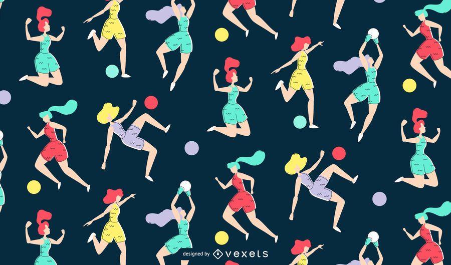 Padrão de futebol feminino