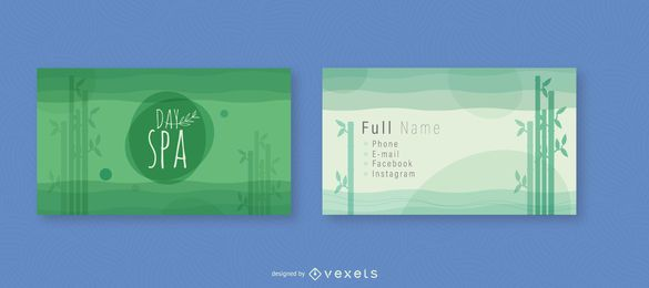 Bamboo Business Card Design