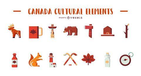 Elementos culturais do Canadá