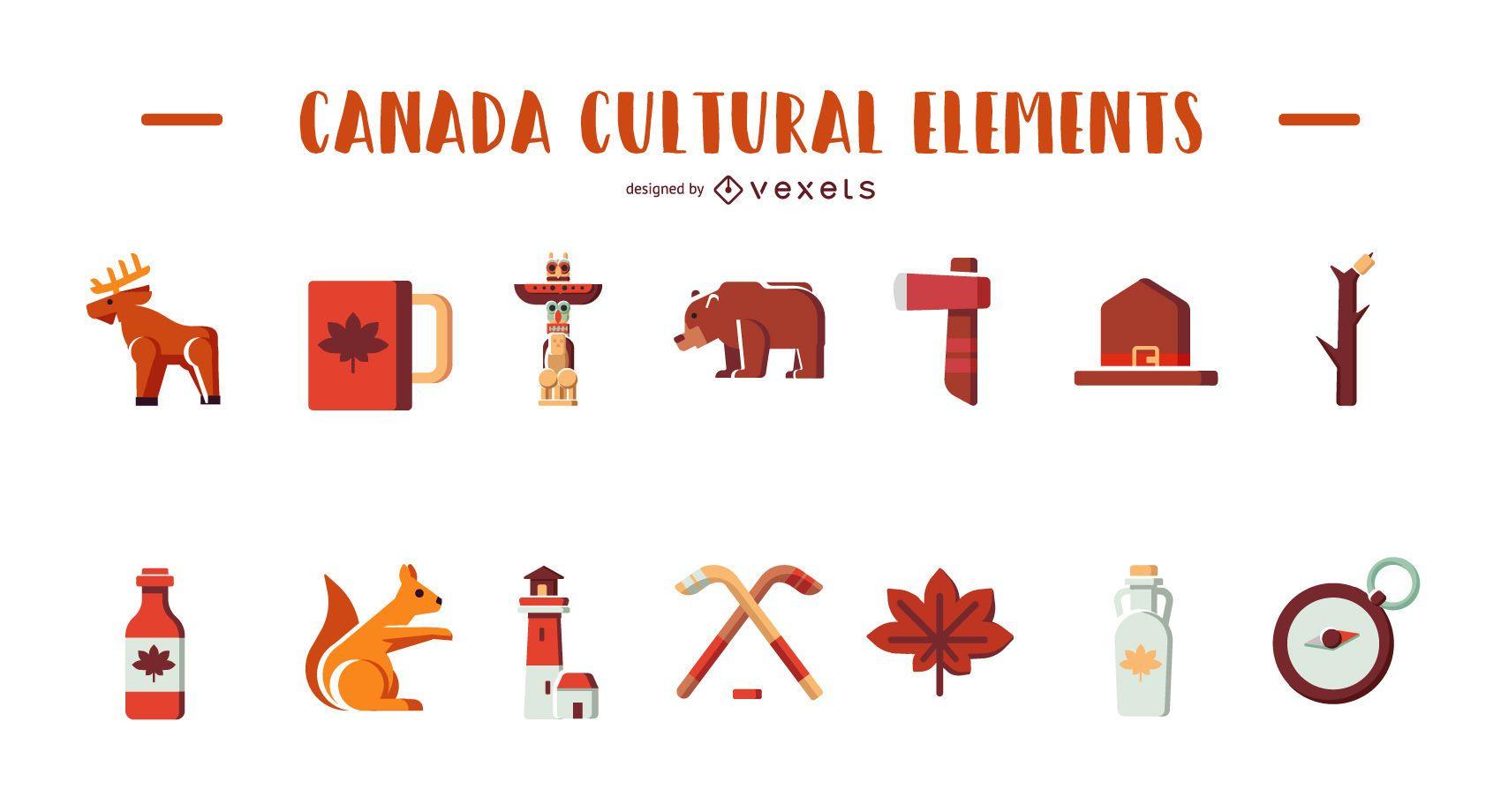Elementos culturales de Canad?