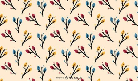 Autumn Colorful Leaves Pattern