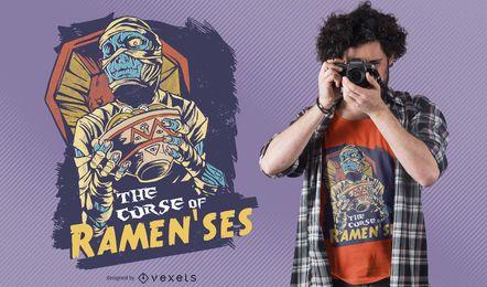 Design de camisetas de mamãe Ramenses