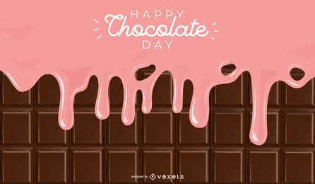 Chocolate Day Background
