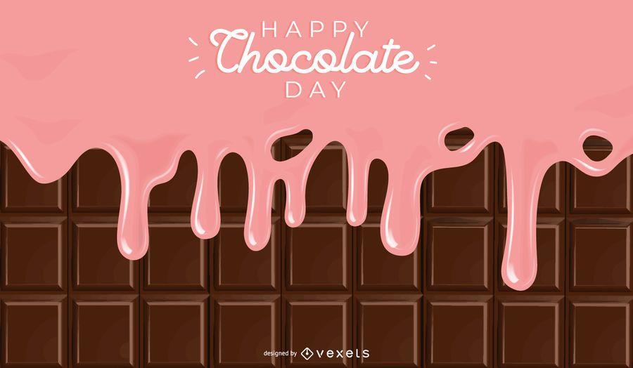 Fundo do Dia do Chocolate